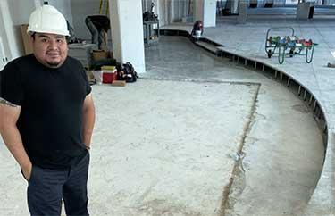painting underground garages